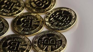 colpo rotante di bitcoin (criptovaluta digitale) - bitcoin 0263