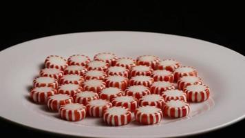 dose rotativa de balas de hortelã-pimenta - doces de hortelã-pimenta 040