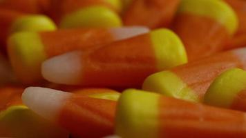 Foto giratoria de maíz dulce de Halloween - maíz dulce 034