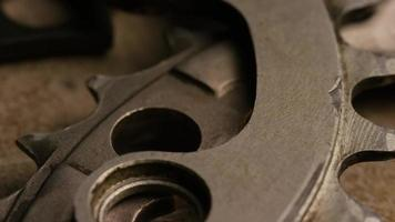 tir cinématique et rotatif d'engrenages - engrenages 078