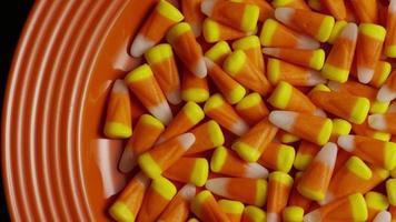 tiro giratório de milho doce de halloween - milho doce 019