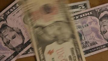 foto rotativa de dinheiro americano (moeda) - dinheiro 509