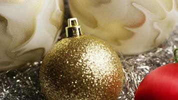 Plano cinematográfico y giratorio de adornos navideños - navidad 029