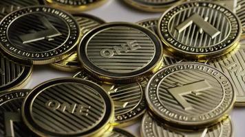 Disparo giratorio de litecoin bitcoins (criptomoneda digital) - bitcoin litecoin 0075