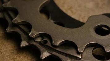 tir cinématique et rotatif d'engrenages - engrenages 030