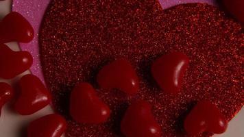 Imágenes de archivo giratorias tomadas de decoraciones y dulces de San Valentín - San Valentín 0120