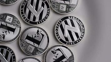 Tir tournant de bitcoins litecoin (crypto-monnaie numérique) - bitcoin litecoin 0129
