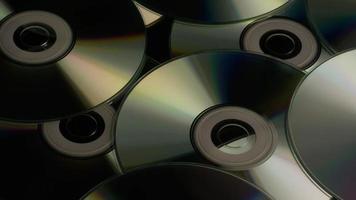 tiro giratório de discos compactos - cds 011