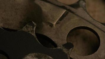 tir cinématique et rotatif d'engrenages - engrenages 036