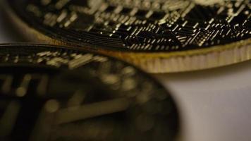 colpo rotante di bitcoin (criptovaluta digitale) - bitcoin 0373