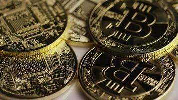 colpo rotante di bitcoin (criptovaluta digitale) - bitcoin 0395