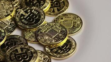 colpo rotante di bitcoin (criptovaluta digitale) - bitcoin 0390