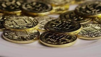 Tir rotatif de bitcoins (crypto-monnaie numérique) - bitcoin 0410 video