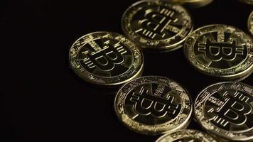 Tiro giratorio de bitcoins (criptomoneda digital) - bitcoin 0472