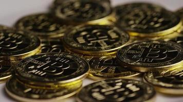 colpo rotante di bitcoin (criptovaluta digitale) - bitcoin 0320