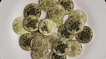 colpo rotante di bitcoin (criptovaluta digitale) - bitcoin 0377