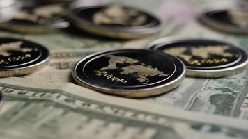 Tir rotatif de bitcoins (crypto-monnaie numérique) - ondulation bitcoin 0286
