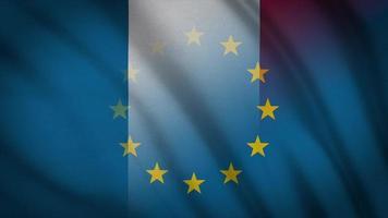 drapeau de l'ue france