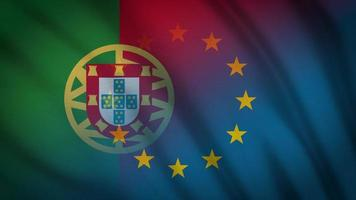 portugal eu flag