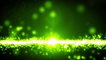 Abstract Light Particle Flowing Loop video