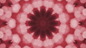 caleidoscopio bokeh rojo