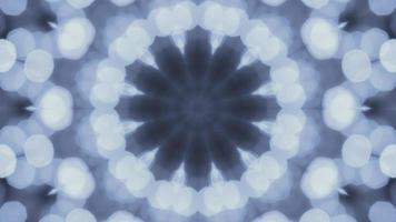 Kaleidoskop Bokeh grau