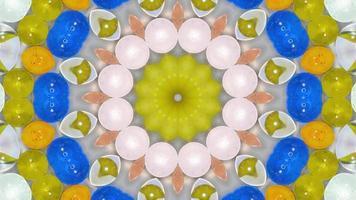 canicas de caleidoscopio
