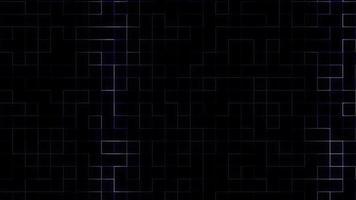 blauw elektrisch circuitnet groeit