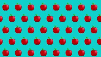fond de pomme video