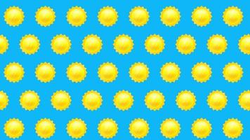 sfondo del sole