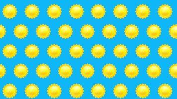 fundo do sol