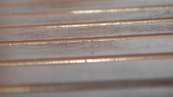 Fondo de textura de madera vieja real video