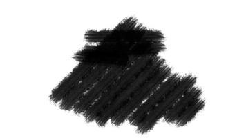pintura pincel preto grunge
