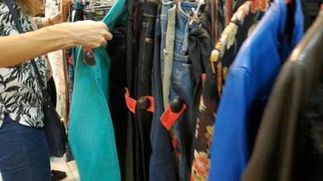 compra de roupas