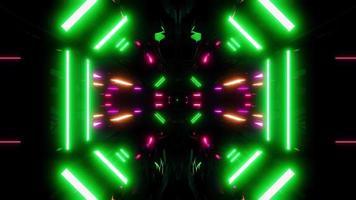túnel futurista de ficção científica video
