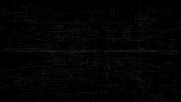 sfondo geometrico astratto video