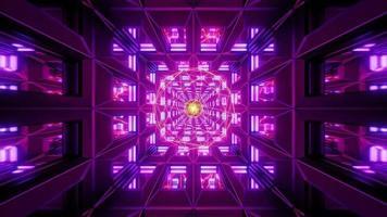 estructura metálica brillante