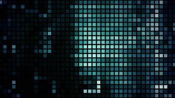 los diodos emisores de luz parpadean con los datos video