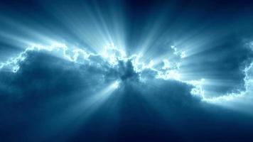 sfondo di luci di energia astratta