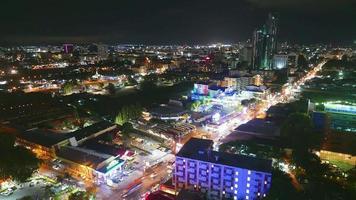 cidade de Pattaya à noite