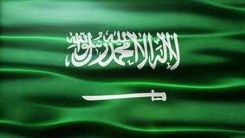 loop da bandeira da arábia saudita