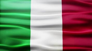 loop bandiera italia video