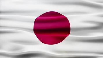 Japan Flag Schleife video