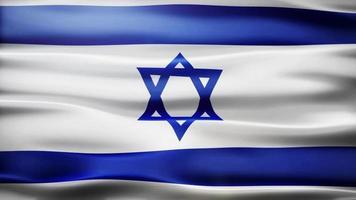 bandiera di Israele loop video