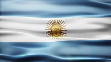 argentinië vlag lus