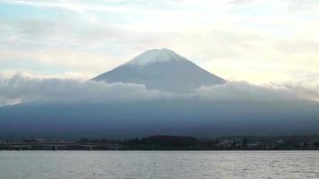 montaña fuji en japón video