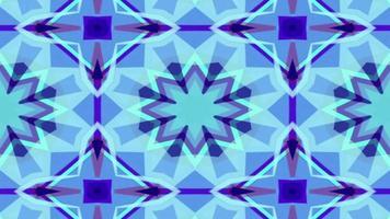 formas caleidoscópicas se fusionan y se retuercen video
