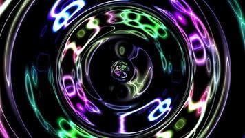 bucle de fondo colorido abstracto