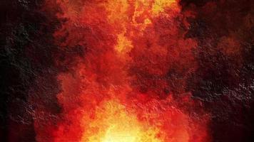 Fondo de muro de hormigón brillando en calor
