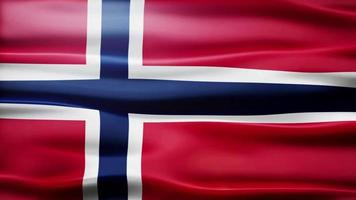 Norwegen Flag Schleife